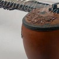 Custom Pandit Ravi Shankar Style Teak Wood Sitar