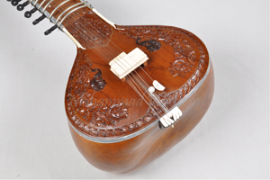 Full Carving Teak Sitar