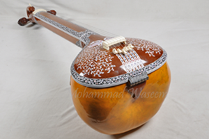 Peacock Design Tanpura